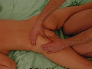 Ayuvedic massage with oils